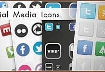Social Media Icon Set [PSD]