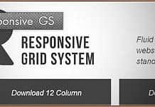Responsive GS – Fluid grid CSS framework
