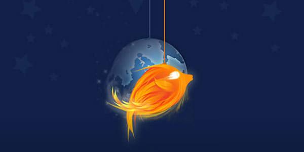 Creative Logo Design. Photoshop Tutorials Firefish