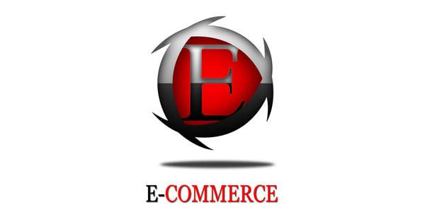 Creative Logo Design. Photoshop Tutorials E-Commerce log