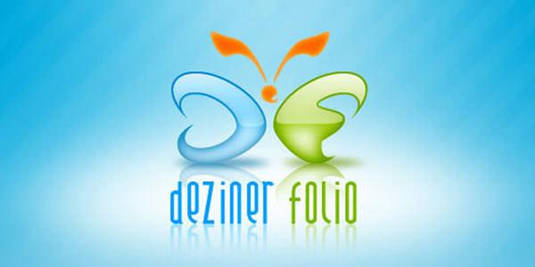 Creative Logo Design. Photoshop Tutorials Dezining the Dezinerfolios Logo