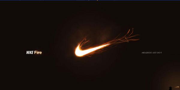 Famous Brands Logo Design. Photoshop Tutorials Nike