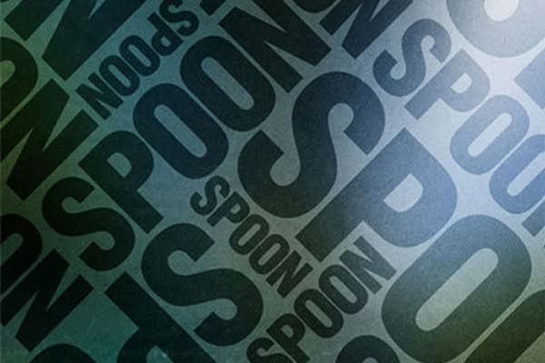 Abstract Typographic Posters. Photoshop Tutorials Trendy Typographic Poster