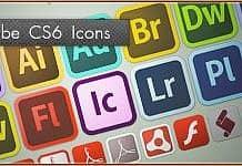 Adobe CS6 Master Collection Icons