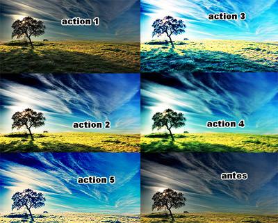 Landscape Enhancement. Photoshop Actions 06