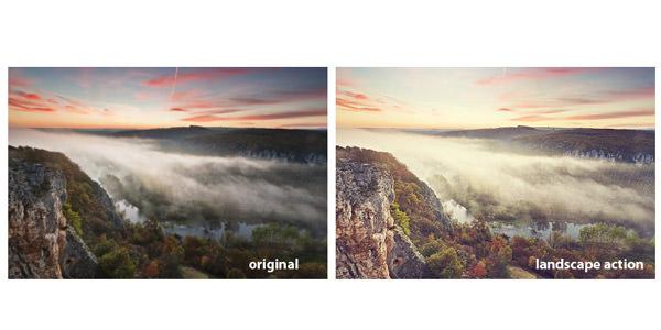 Landscape Enhancement. Photoshop Actions 07