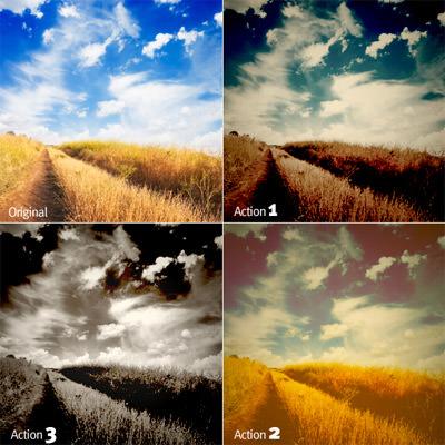 Landscape Enhancement. Photoshop Actions 08