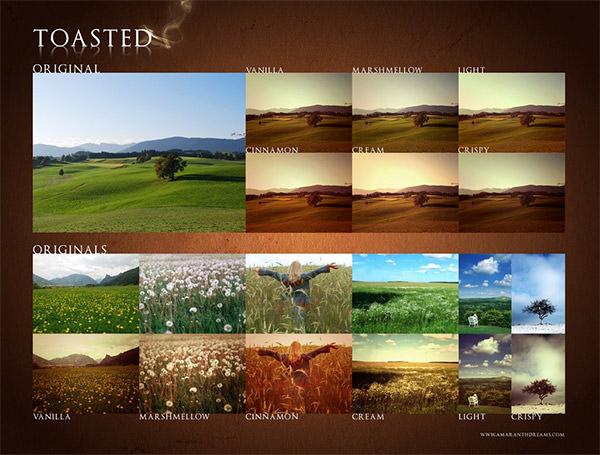 Landscape Enhancement. Photoshop Actions 09