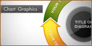 Business Graph and Chart Graphics [PSD]