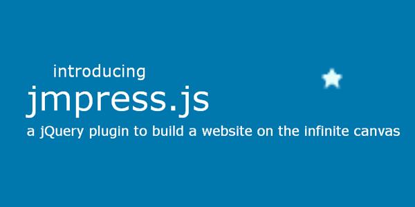 Unique scrolling website. jQuery Plugins and techniques jmpress.js