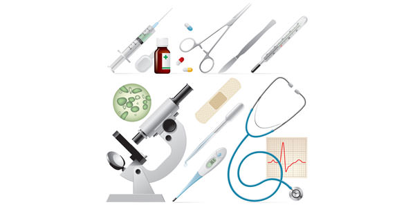 High Quality Free Medical Icons Set Medical supplies Icon Vector