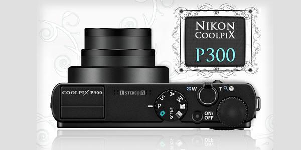 Free Digital and Photo Camera Templates [PSD] Nikon Coolpix P300