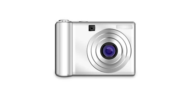 Free Digital and Photo Camera Templates [PSD] digital photo camera icon