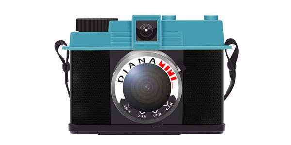 Free Digital and Photo Camera Templates [PSD] Diana Mini LOMO Camera Icon