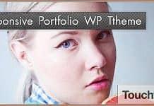Free clean fluid-responsive portfolio WordPress theme. Touchfolio