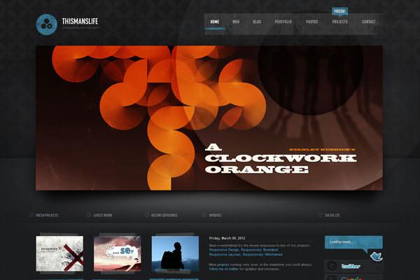 Creative Dark Website Designs for Inspiration Vol1 04
