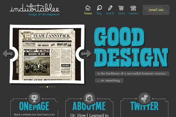 Creative Dark Website Designs for Inspiration Vol1 05