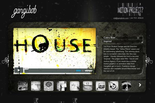 Creative Dark Website Designs for Inspiration Vol1 06