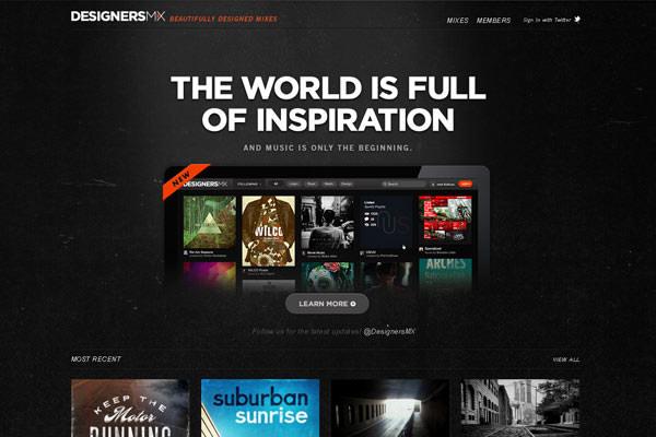 Creative Dark Website Designs for Inspiration Vol1 07