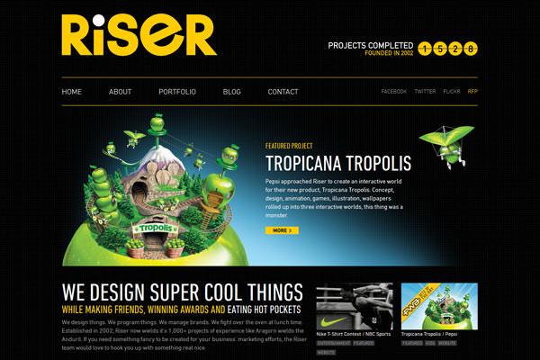 Creative Dark Website Designs for Inspiration Vol1 08
