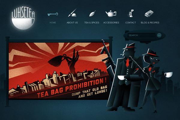 Creative Dark Website Designs for Inspiration Vol1 09