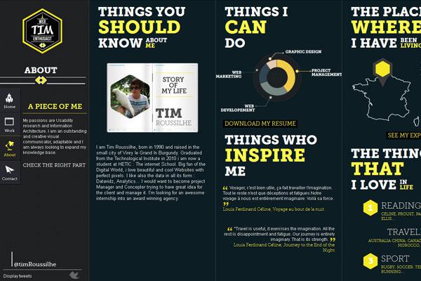 Creative Dark Website Designs for Inspiration Vol1 12