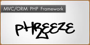 MVC-ORM framework for PHP. Phreeze