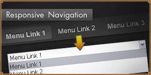 Responsive navigation plugin. jQuery TinyNav.js