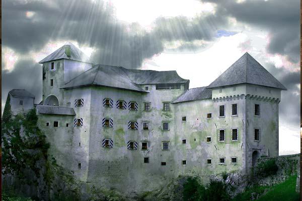 Creating Fantasy Illustration and Magic Scenes. Photoshop Tutorials. Landscape photo manipulation