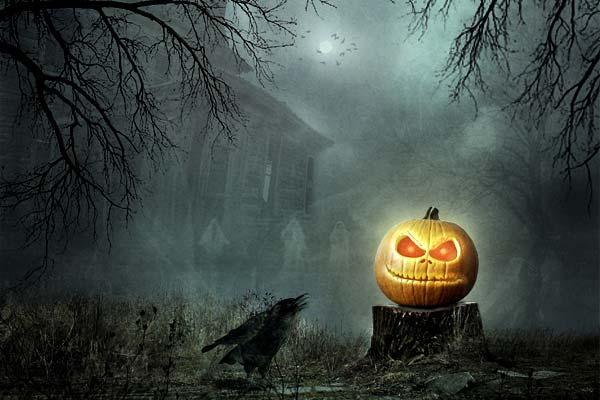 Creating Fantasy Illustration and Magic Scenes. Photoshop Tutorials. Create a Spooky Halloween Photomanipulation