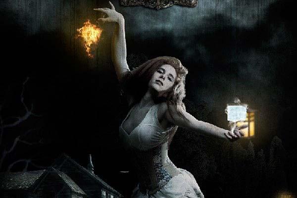 "Creating Fantasy Illustration and Magic Scenes. Photoshop Tutorials. Create this ""Heaven & Hell"" Photo Manipulation"