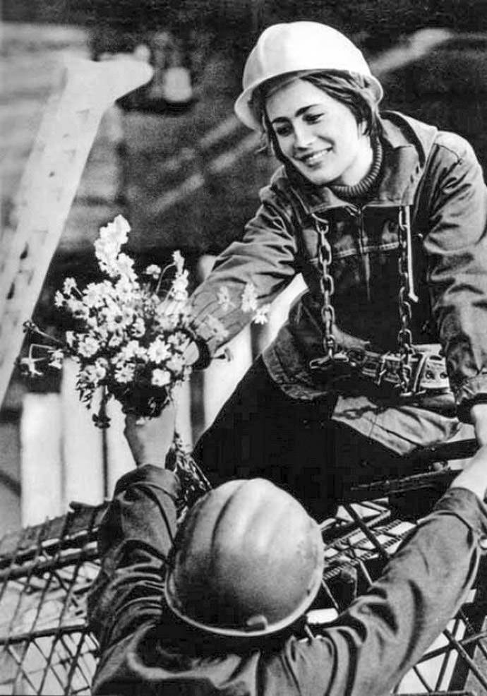 Charming photos of Soviet girls and women