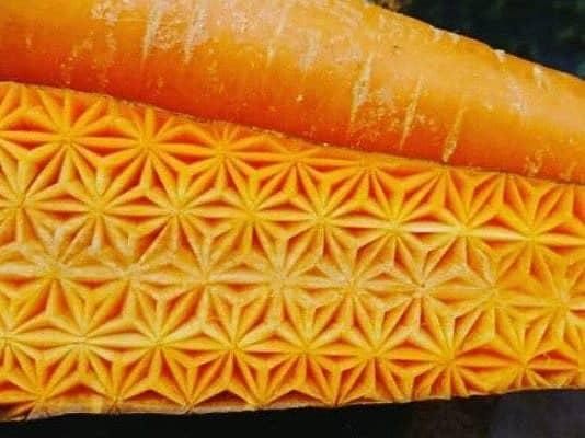 Fruit-vegetable Carving. Intricate Patterns on Food by Japanese Virtuoso Gaku