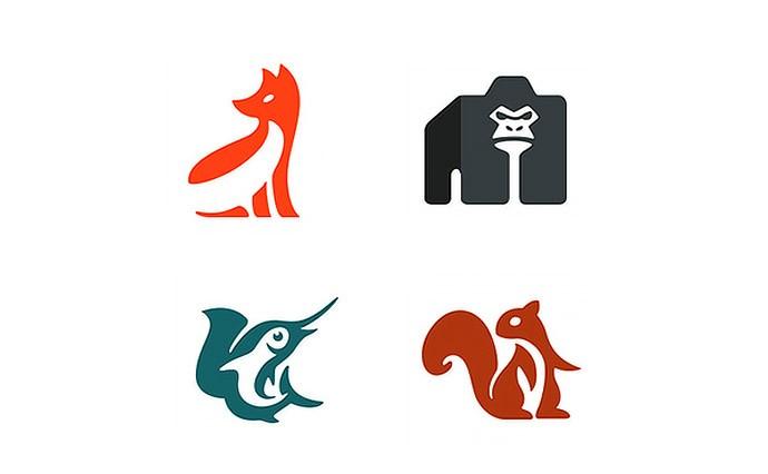 Negative Space In Logo Design Creative Branding Ideas For Inspiration