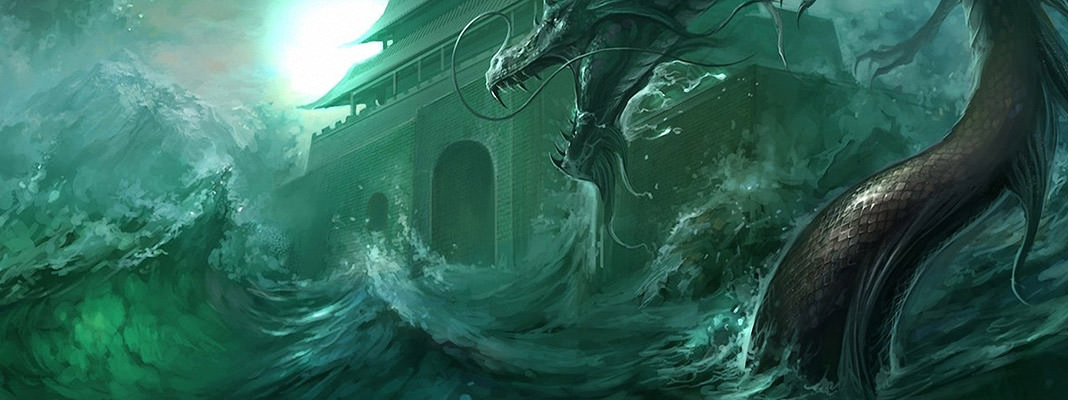 Sea monster wallpaper pack
