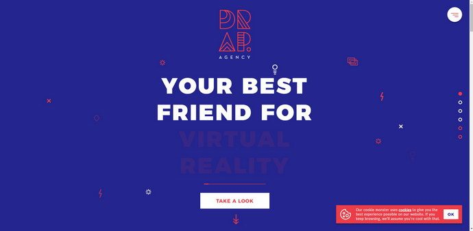 Vivid and Bold Colors in Web Design. Expressive Sites for Inspiration